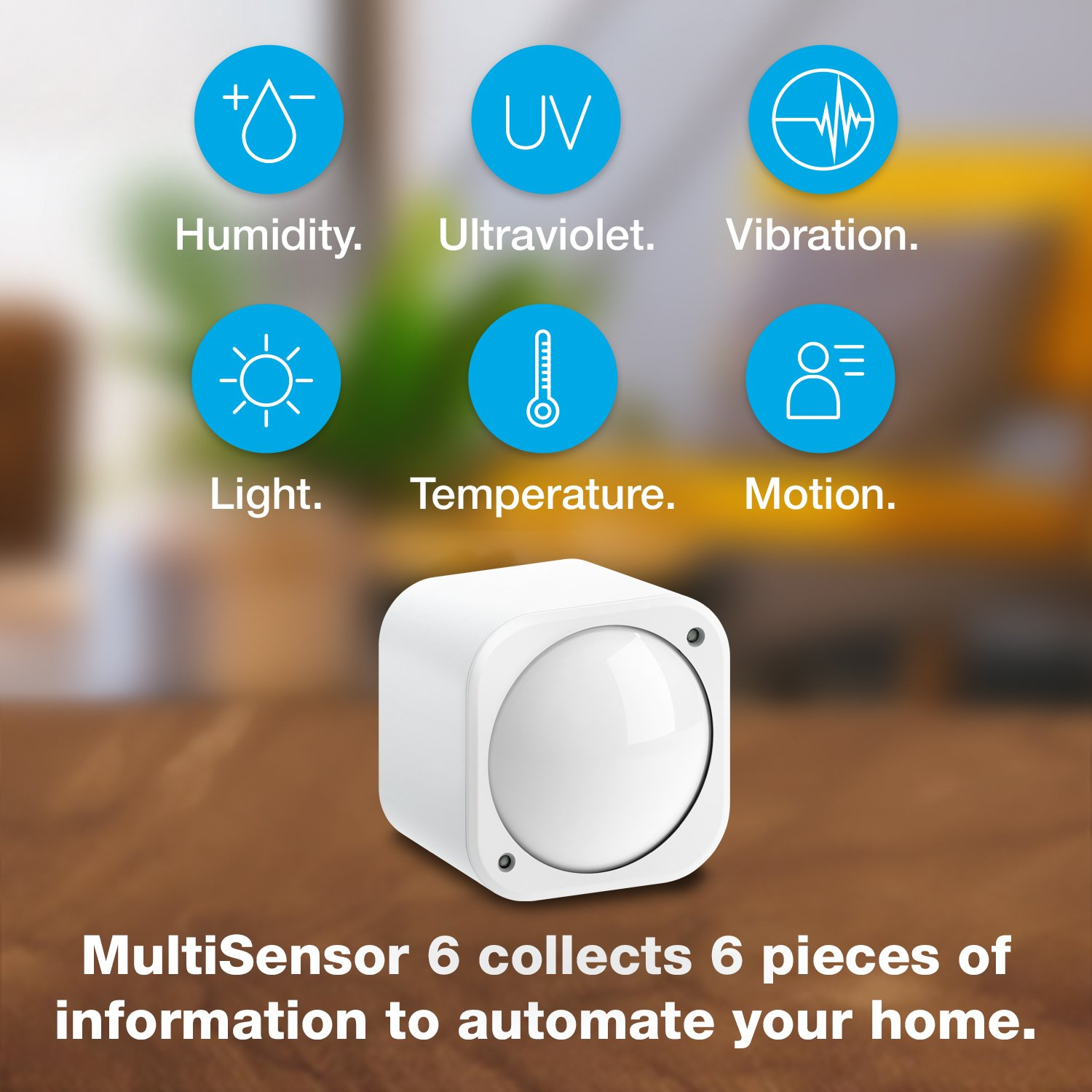Aeotec Multisensor 6 with Battery, Z-Wave Plus 6-in-1 Motion, Temperature, Humidity, Light, UV, Vibration Sensor by Aeotec (Image #2)