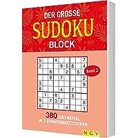 Der große Sudokublock Band 2: 380 Kulträtsel in 3 Schwierigkeitsstufen