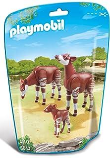 6647 Playmobil City Life Zoo Alpaca with Baby