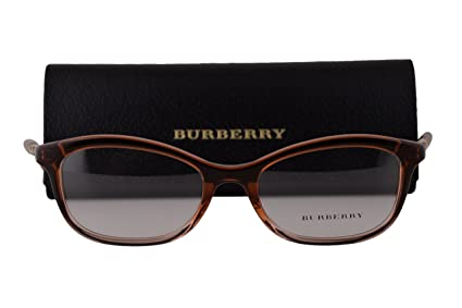 78fd36af8fa Amazon.com  Burberry BE2231 Eyeglasses 52-18-140 Brown Gradient Pink ...