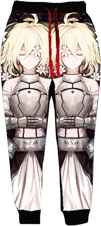 Anime Printing Jogger Pants 009