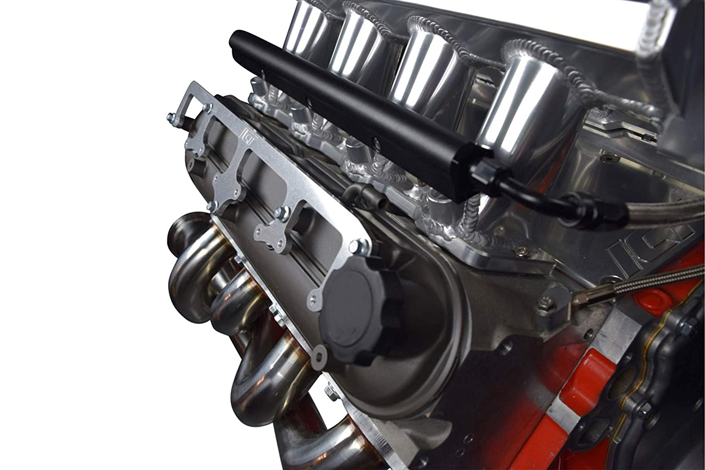 ICT Billet 5.3L LS Truck Side Bolt Coil Brackets Mount Valve Cover 19005218 D585 LSX Swap Heat Sink LM7 LR4 LQ4 L59 LQ9 LM4 L33 LH6 L92 L76 LY2 LY5 LY6 LC9 LMG L98 L96 LC8 551531