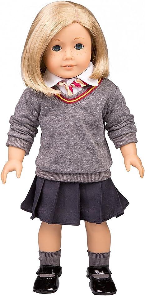 Custom Designed Sweater Handmade for 18 inch American Girl Doll Made in USA