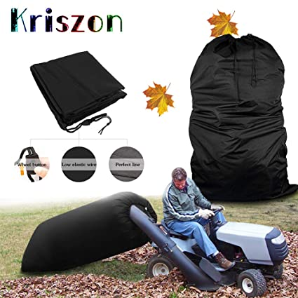 Best Lawn Tractor 2020.Kriszon Tractor Leaf Bag Lawn Tractors Leaf Bag Bag With Chute Kit Durable Yard Waste Bag Made To Avoid Tearing From Surface Drag Suitable For All