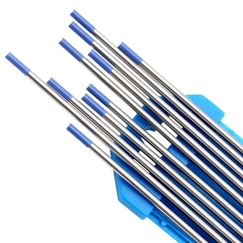 "DAHAN Tungsten Electrodes 1//16/"" 10-Pack Blue, WL20"