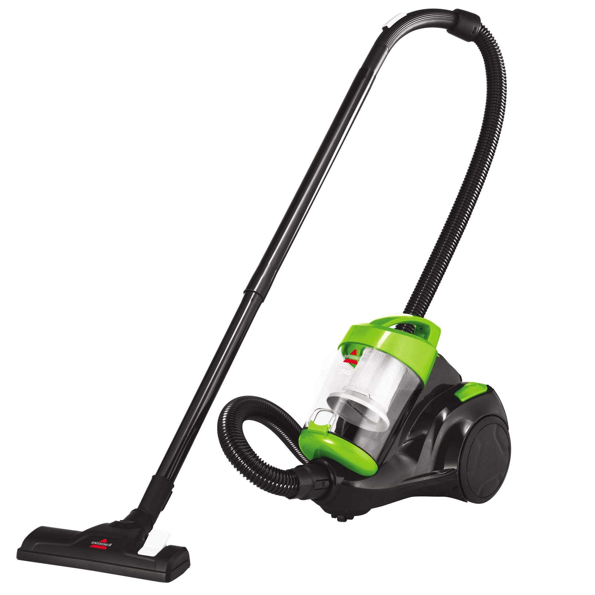Bissell Zing Canister, 2156A Bagless Vacuum, Green (Renewed) by Bissell