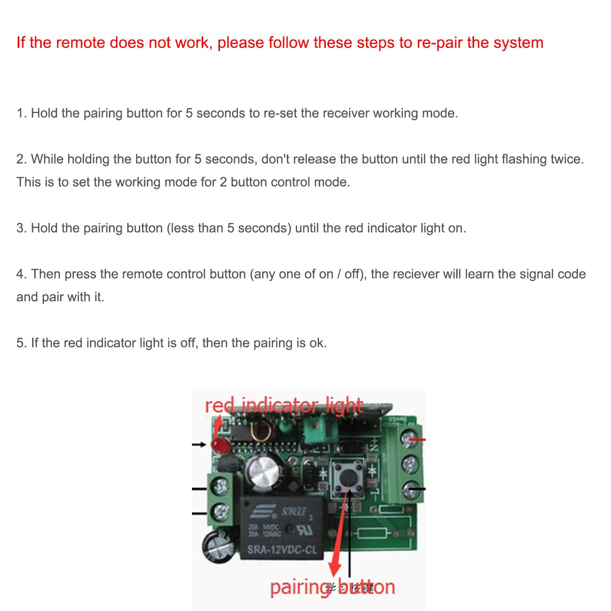 Ekylin Car Wireless Remote Control Battery Switch Disconnect The Device Has Four Modes Toggle Details This Is A