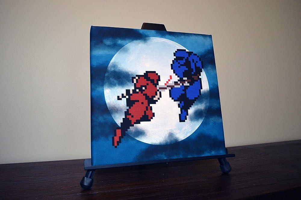 Amazon.com: Ninja Gaiden Canvas Print: Handmade