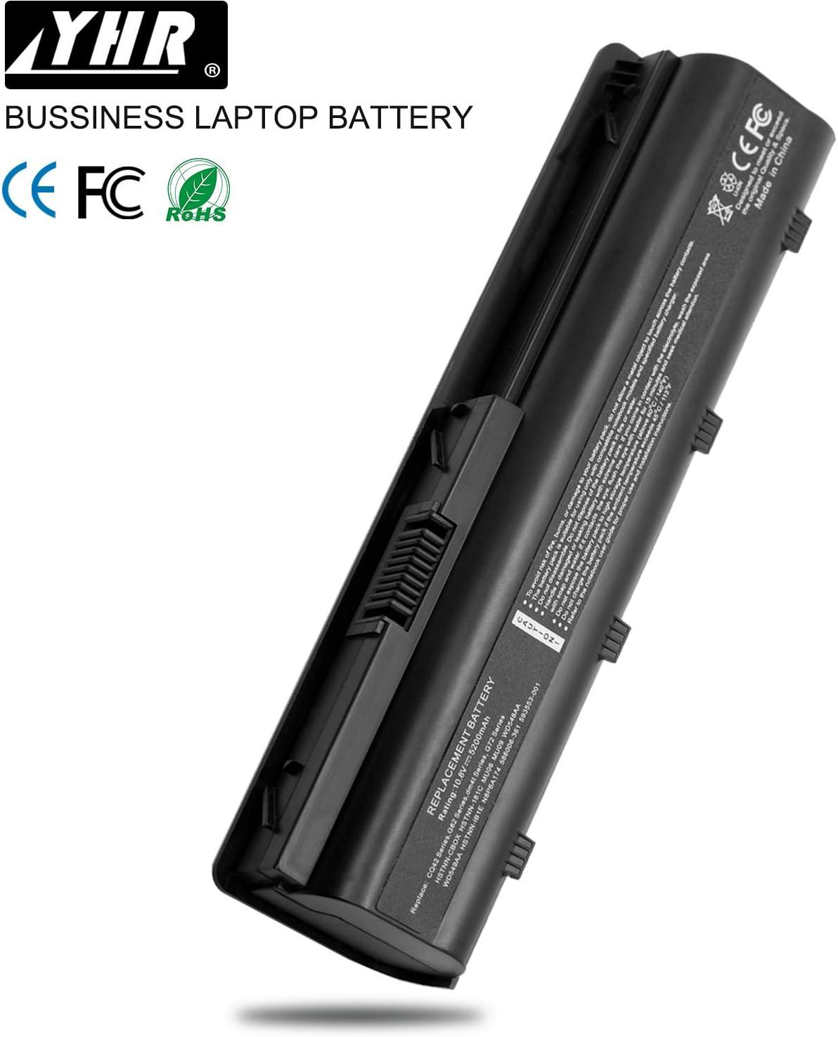BATTERIA portatile per HP CQ42 G42 G4 MU06 MU09 593553-001 593554-001 NOTEBOOK 6 Cell