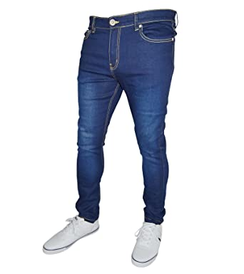 cf8e9270be06 westAce Mens Stretch Skinny Fit Jeans Super Spandex Denim Pants at Amazon  Men's Clothing store: