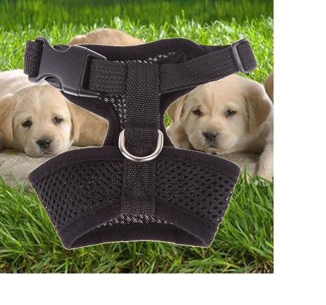 Arnés para perro de ILOVEDIY ajustable, de malla suave, ideal para ...