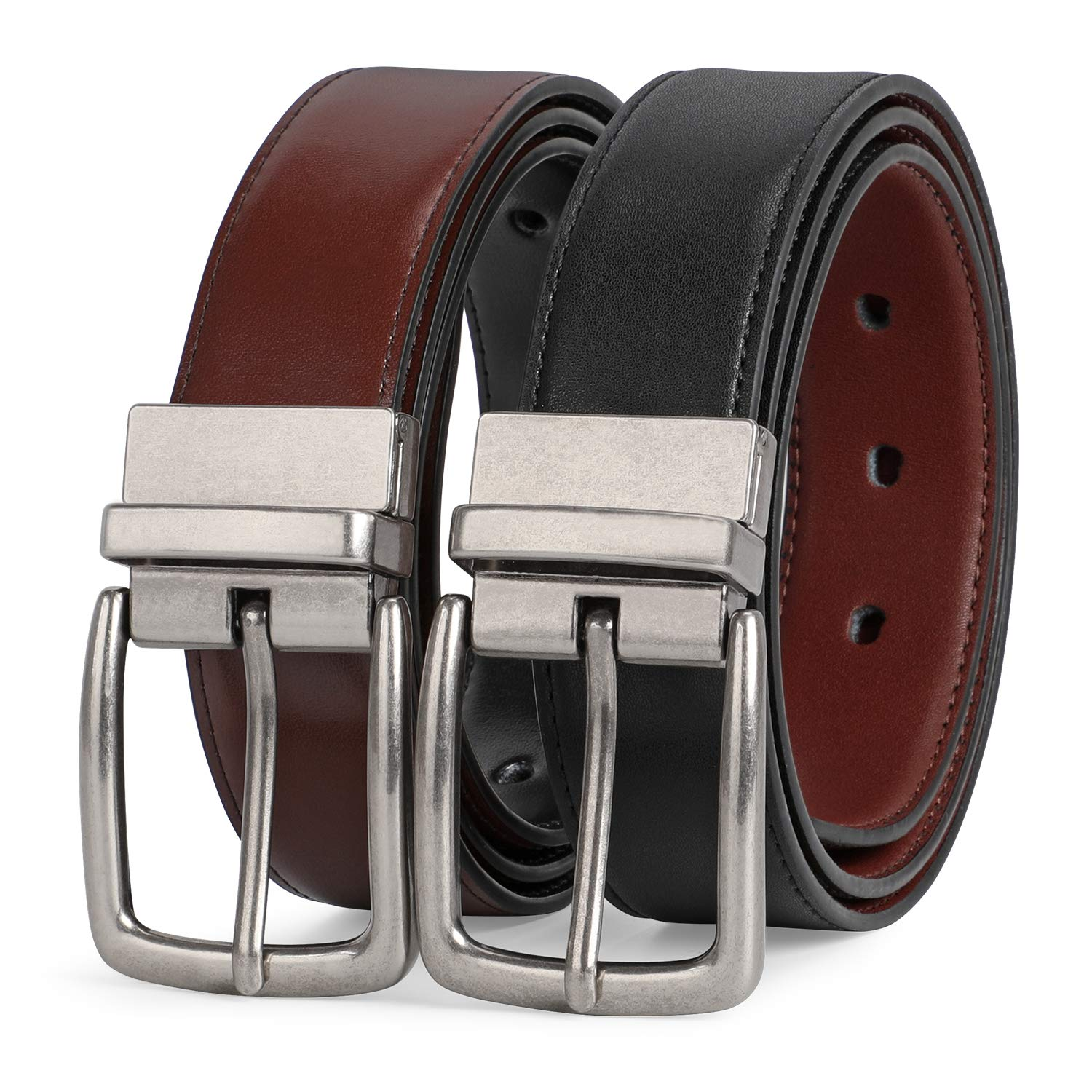 Good quality belt w/reversible buckle