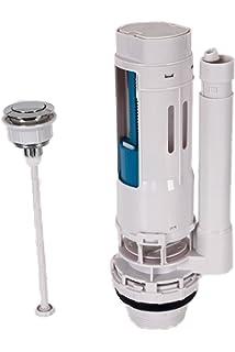 Aqualy BO-40124 Descarga WC tanque bajo pulsador
