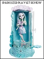 Ever After High Epic Winter Sparklizer Playset Review with Crystal Winter Doll.