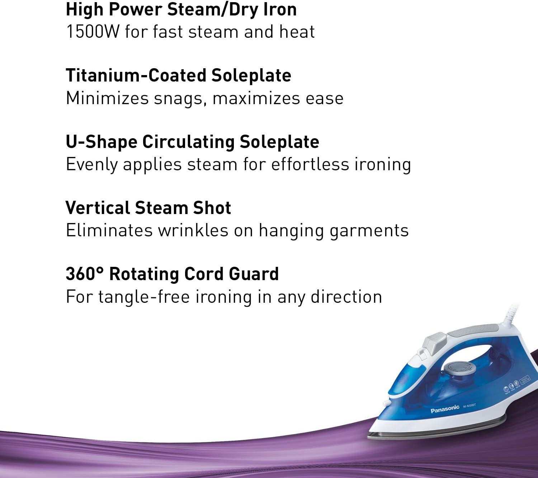 Panasonic Light steam Iron Blue//White