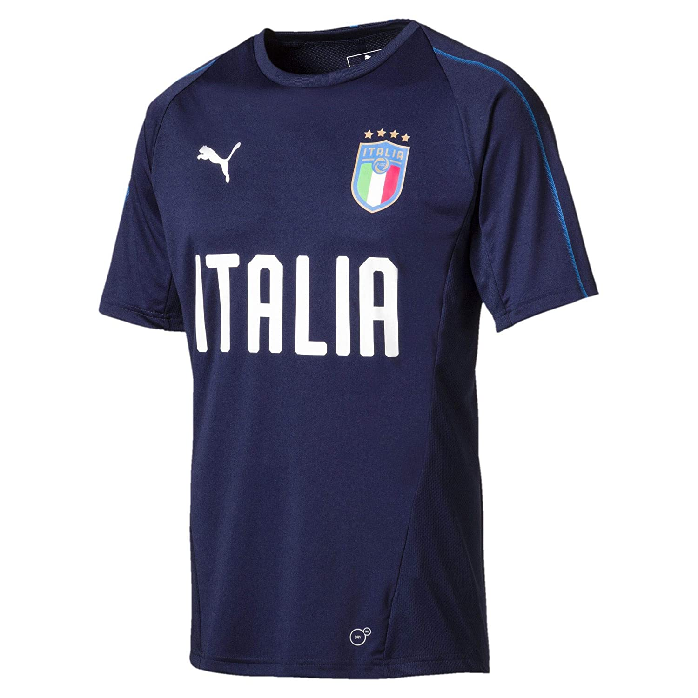 Puma Herren FIGC Italia Training Jersey Ss