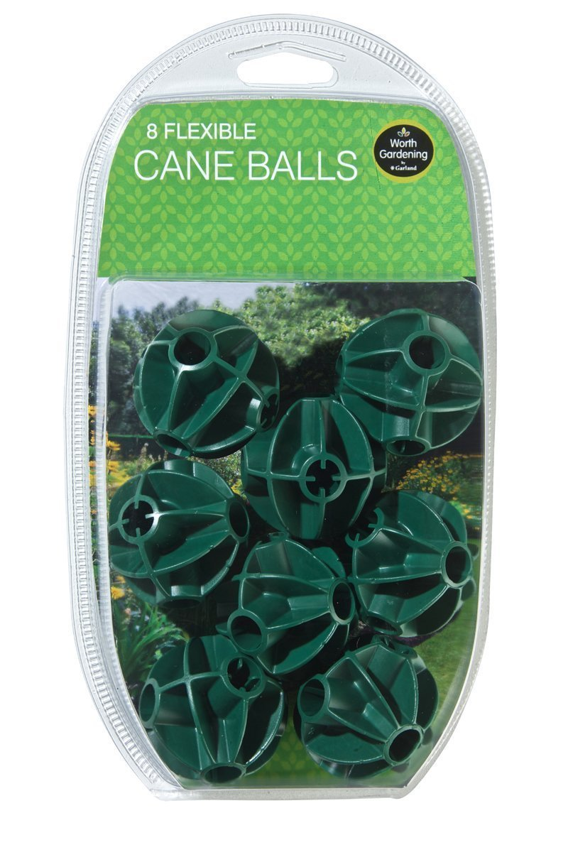 Flexible Cane Balls Pack Of 8 For Garden Fruit Cages and Netting Frames Garland Products Limited VDTAZ012