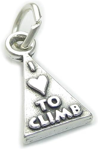 I Love to Climb pulsera de plata de ley 925. 1 x escalador de ...