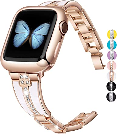 Amazon.com: JSGJMY - Correa para Apple Watch (1.496 in ...