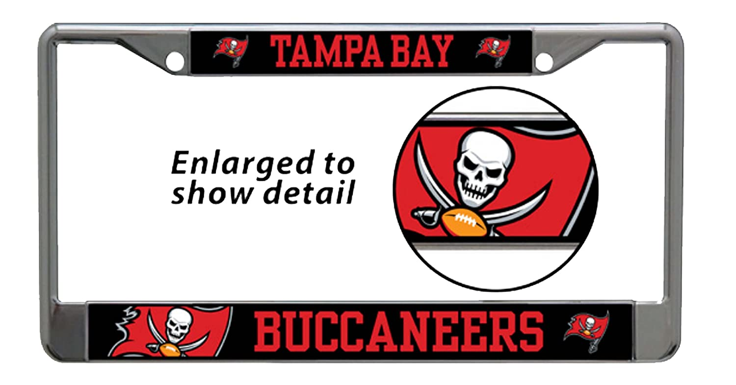 NFL Tampa Bay Buccaneers Logo Custom License Plate