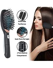 Ionic Cepillo de pelo para desenredar, antiestático, curvado, ventilado, cepillo para desenredar