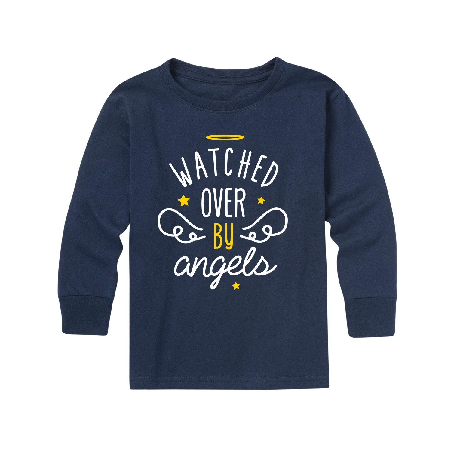 Instant Message Watched Over by Angels Toddler Long Sleeve Tee