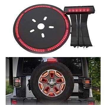 LED 3rd tercera luz de freno + rueda de repuesto rueda de luz de freno Luz