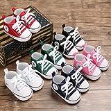 Unisex Baby Girls Boys Canvas Shoes Soft Sole