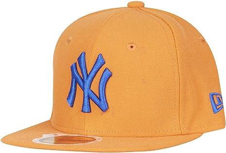 /NEW YORK YANKEES Orange NEW ERA 59/FIFTY Kids Casquette/