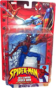 "Spider-Man Classics Web Climbing Spider-Man 6"" Figure with Retractable Web Line"