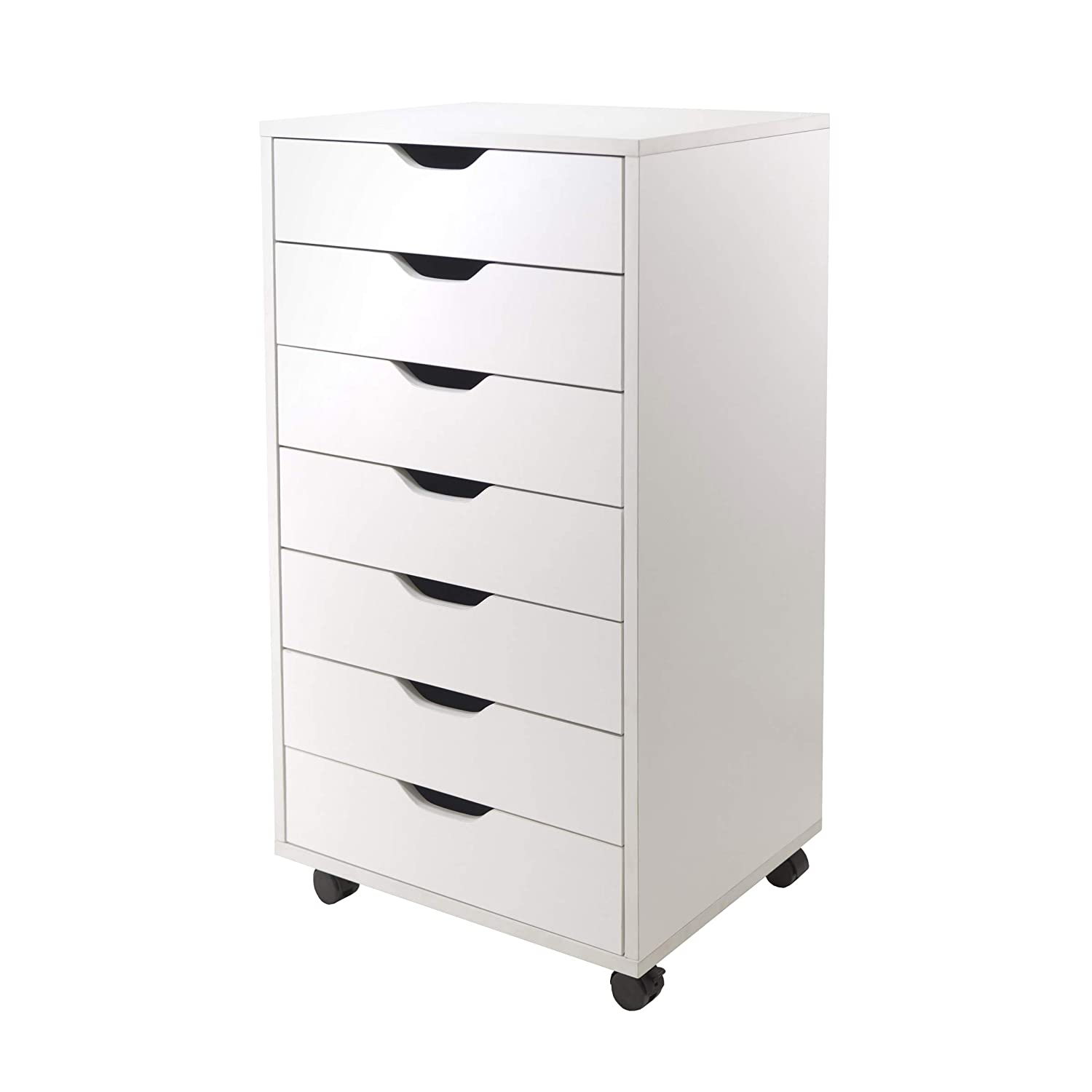 Winsome 10792 Halifax Storage/Organization, 7 Drawer, White