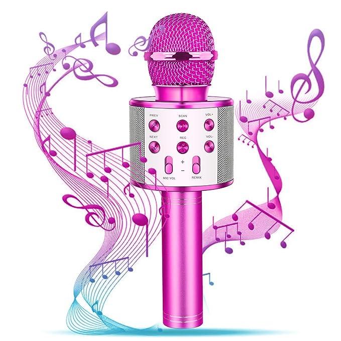 Amazon.com: Superwinky - Micrófono inalámbrico con Bluetooth ...