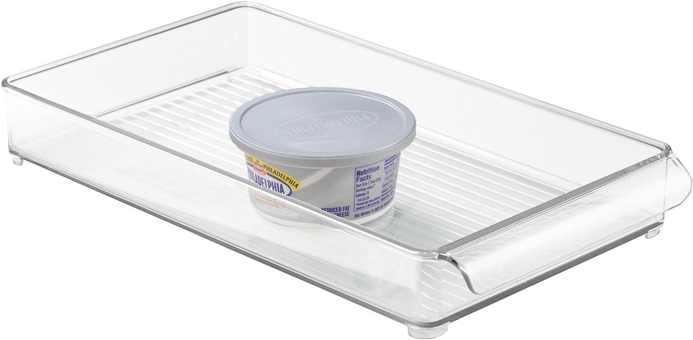 iDesign 70230EU Freeze Binz K/ühlschrankfach transparent 19,3 x 36,3 x 4,3 cm