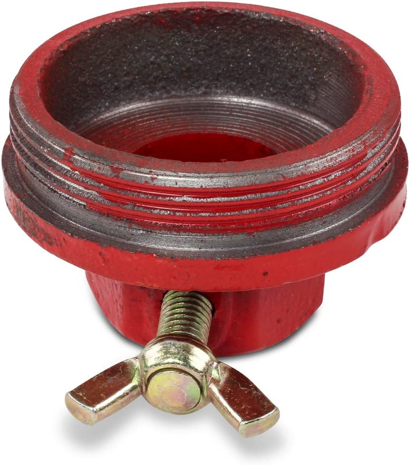 for Drum Barrels with 2 Openings NPT Thread TERA PUMP 2 inch Bung Adapter