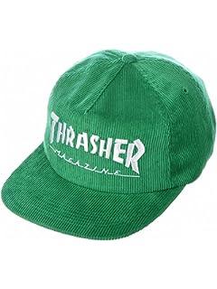 Thrasher Magazine Corduroy Snapback Hat