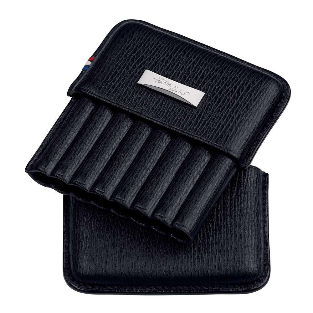 S.T. Dupont Porta Cigarillos Case nero black circa 8 pezzi