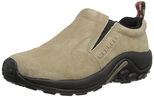 Merrell JUNGLE MOC J60802 - Mocasines de cuero para mujer, beige - Beige (CLASSIC TAUPE), 39: Amazon.es: Zapatos y complementos