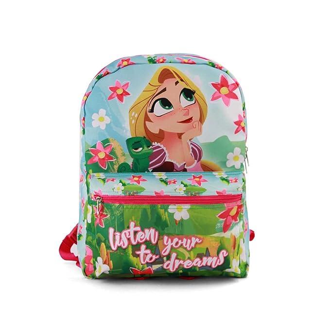 561ac541a70 Karactermania Rapunzel Listen-Reversible 2-in-1 (Small) Children s Backpack