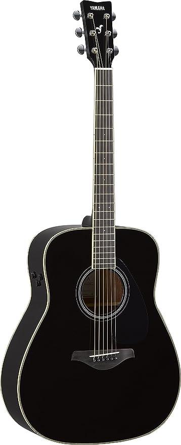 Amazon.com: Yamaha FG-TA Transacoustic Guitar w/ Chorus and Reverb, Black: Musical Instruments