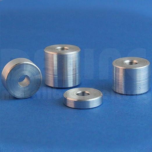 Pour M8 Lot de 10 douilles entretoises en aluminium