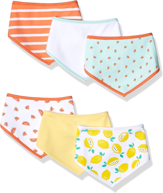 Essentials Baby 6-Pack Bib Set One Size