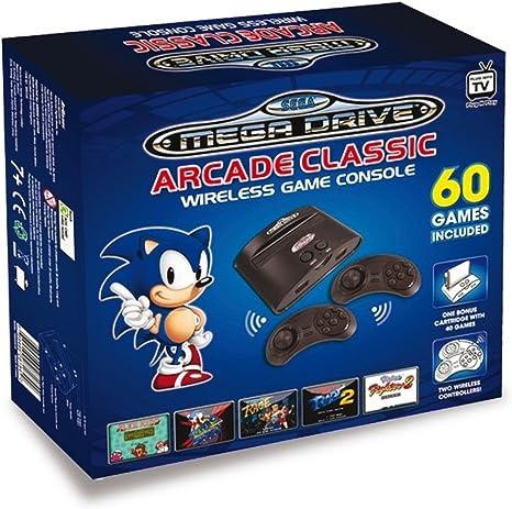 Sega Mega Drive 32X - Consola Retro Arcade Classic Inalámbrica (Incluye 60 Juegos): Amazon.es: Videojuegos