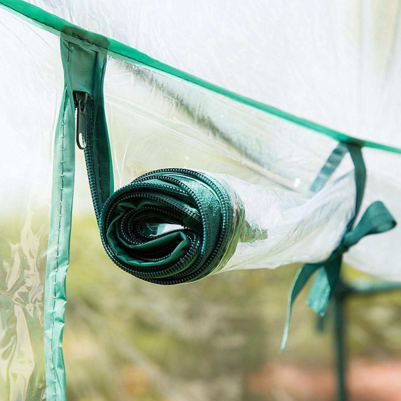 Sans cadre en acier Plantez des herbes ou des fleurs /à lint/érieur et /à lext/érieur et en toute saison Serre de Balcon terrasse Serre pour tomates 100L x 50l x 150H cm Serre de Jardin PVC Tente