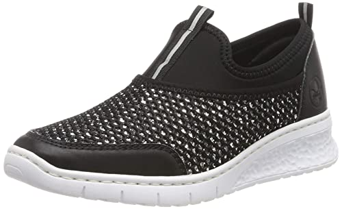 Rieker Damen 581q2 00 Slip On Sneaker