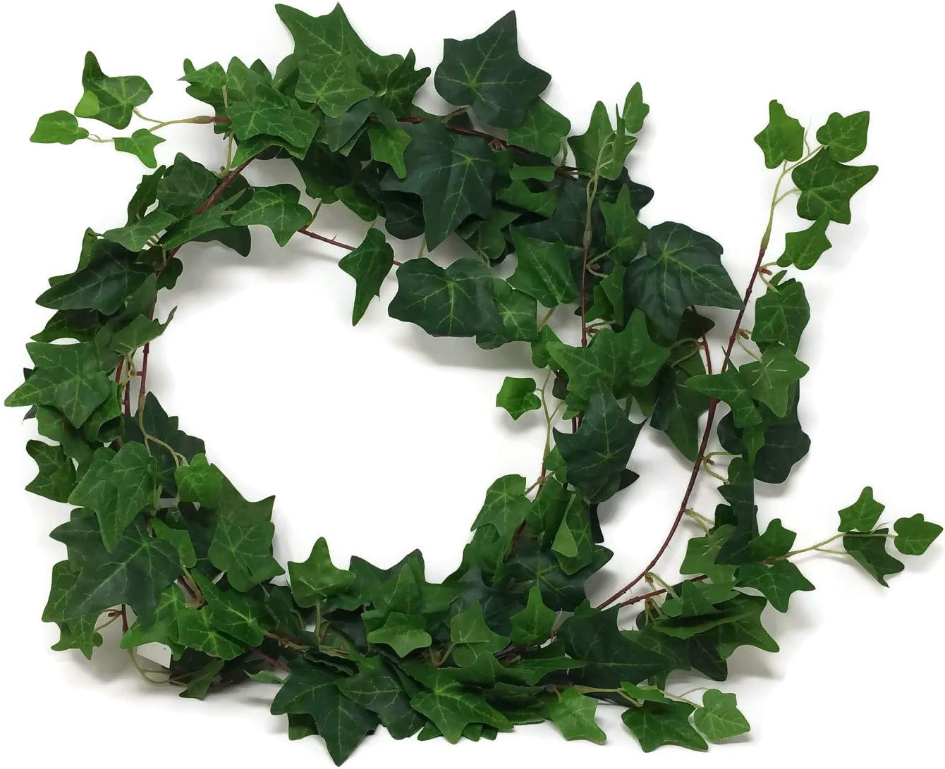 Variegated Green Silk Artificial Ivy Garland 1.8m Trailing Wedding Garden Plant