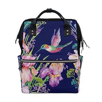 JSTEL - Bolsas para ordenador portátil, diseño de flores y colibríes: Amazon.es: Electrónica