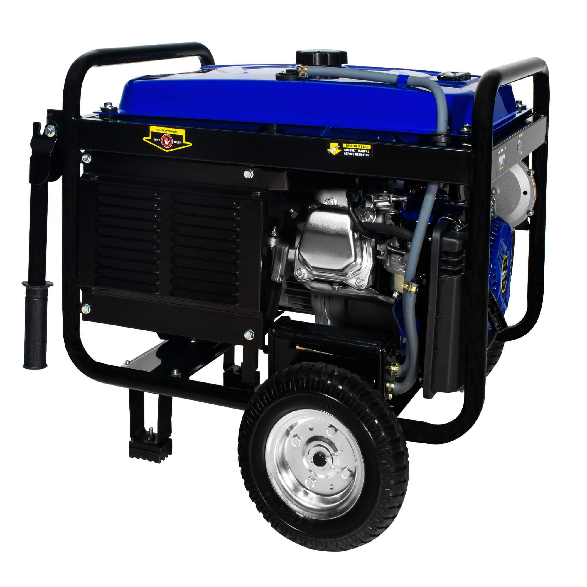 DuroMax Hybrid Dual Fuel XP4400EH 4,400-Watt Portable Generator by DuroMax (Image #8)