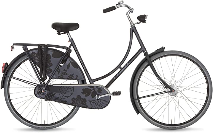 Bicicleta holandesa para mujer Classic Gazelle daloual, RH 57 cm mate gris 3Gang cambio interno de buje modelo 2014: Amazon.es: Deportes y aire libre