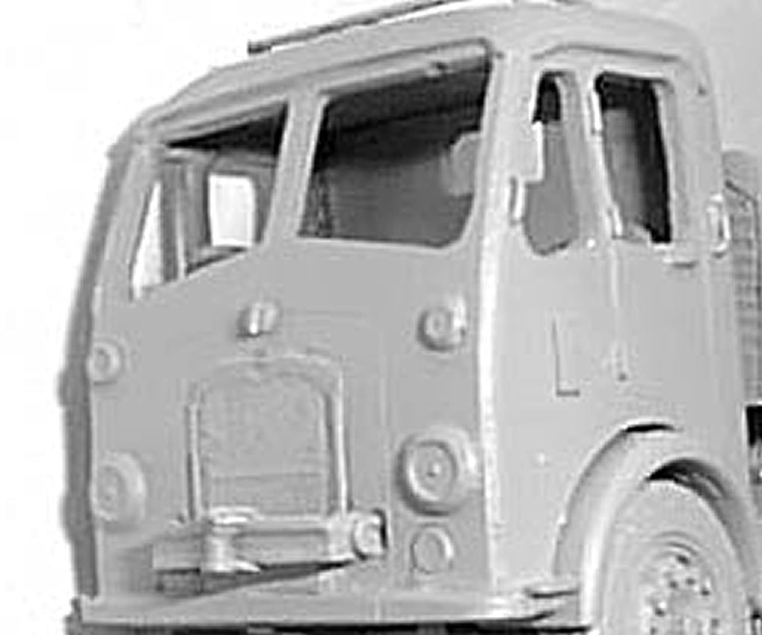 Amazon com: Langley Models Bristol HA / HG Longwell Green cab '56 OO