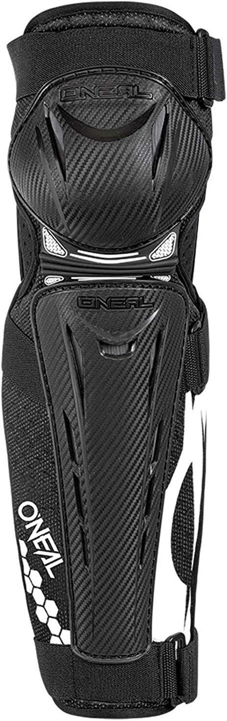 Oneal Trail FR Carbon Look Knee Guard schwarz//wei/ß MX Motocross Protektoren
